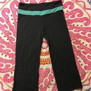 Lululemon cropped reversible leggings